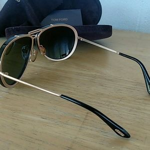 Tom Ford Accessories - TOM FORD Cyrille TF109 Aviator Sunglasses